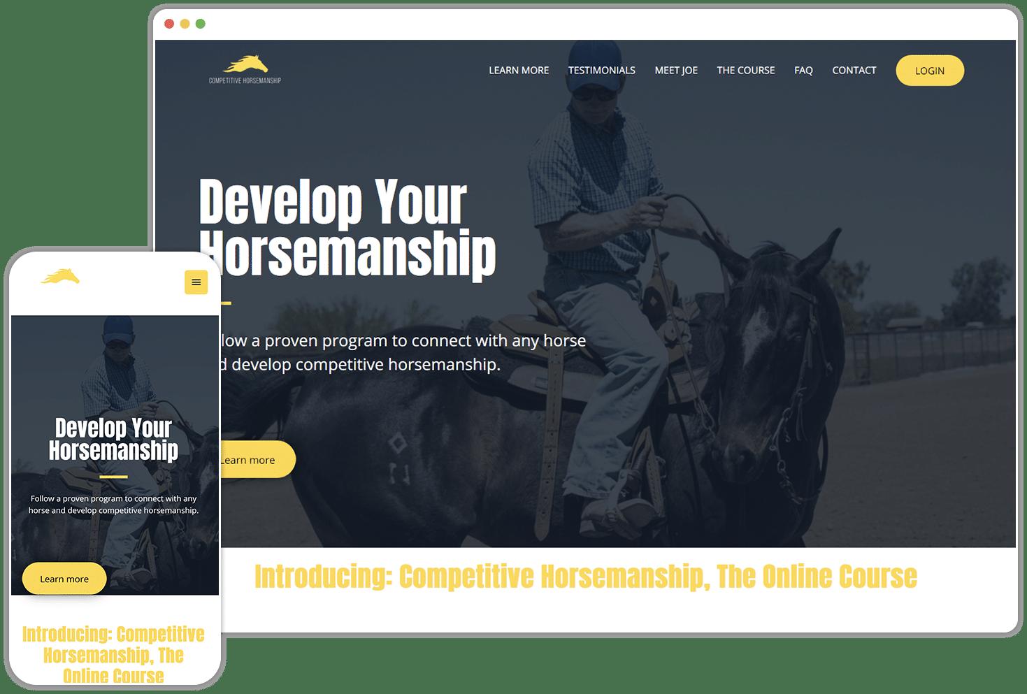 Competitive Horsemanship Screenshot