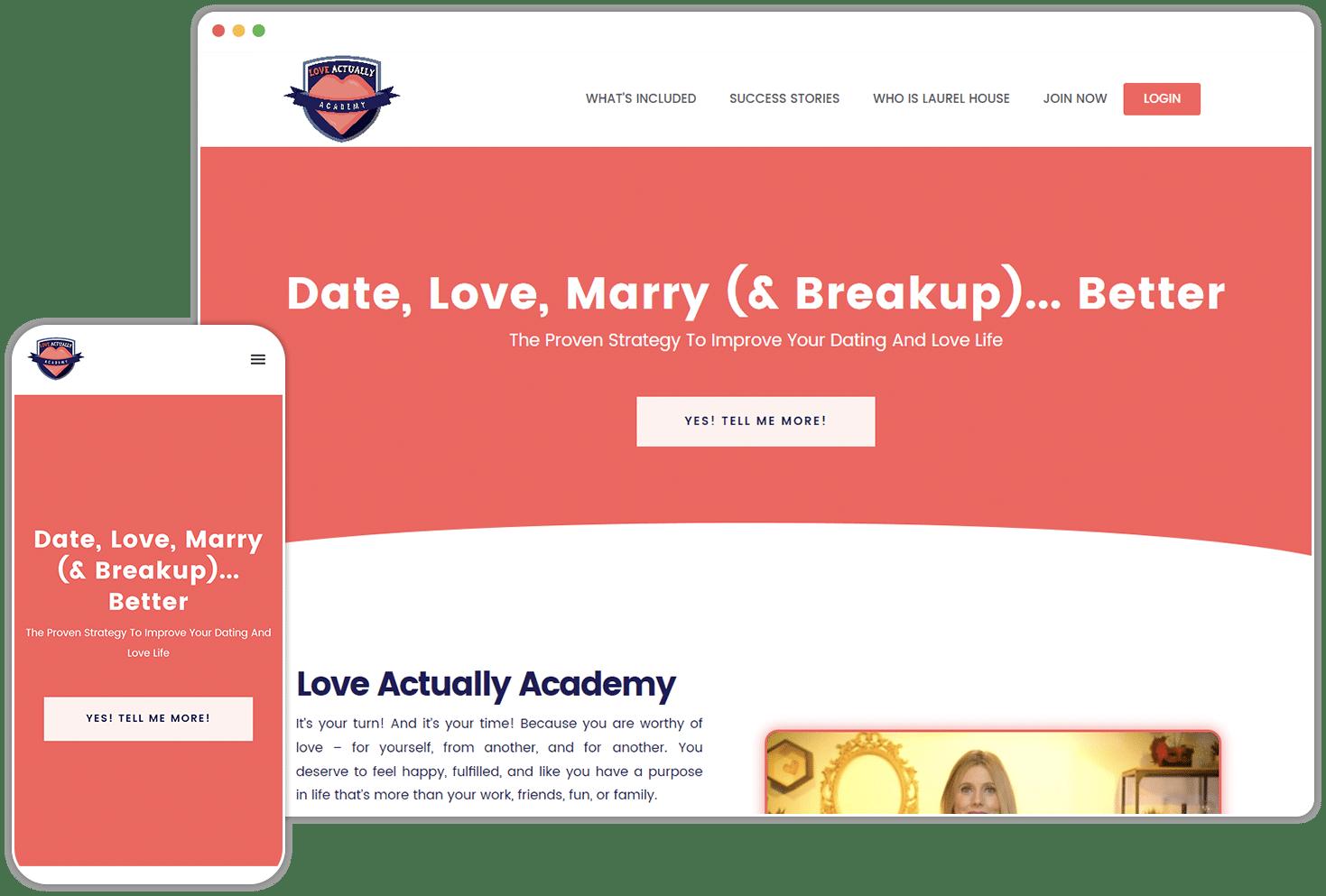 Love Actually Screenshot